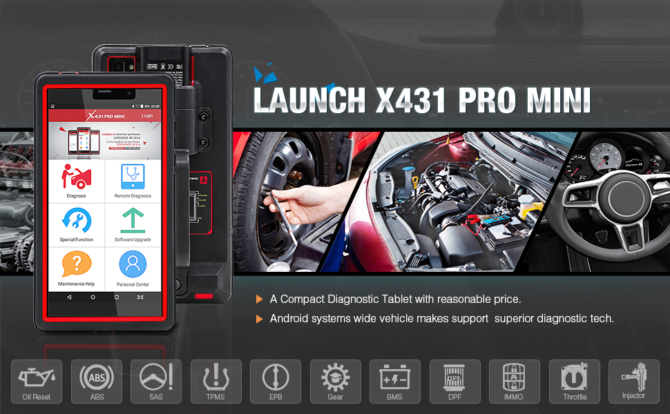 Launch X431 PRO MINI